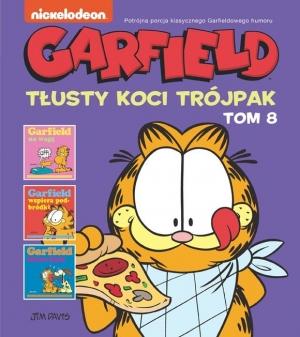 Garfield. Tłusty koci trójpak. Tom 8